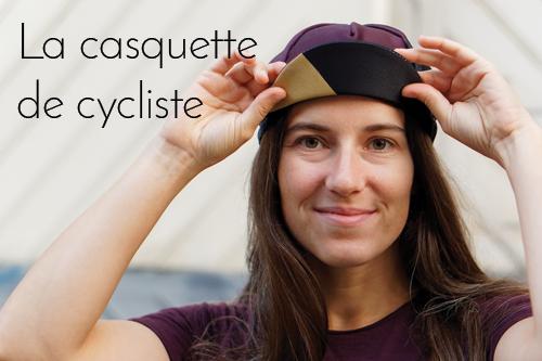 Casquette cycliste de femme Fabriquée en France Lady Harberton x Vera Cycling