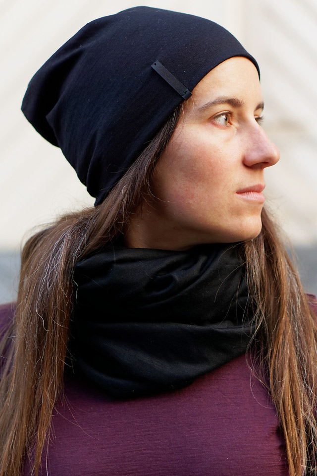 écharpe snood en laine mérinos pour cyclistes urbains Lady Harberton unisexe homme femme