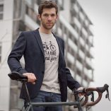 Tee-shirt homme velo get a bike break free Lady Harberton