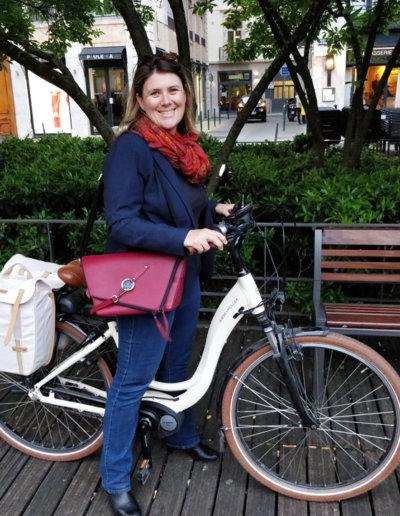 Nathalie et son Messenger Bordeaux à Lyon