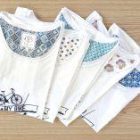 Tee-shirt femme velo fabriqué en France