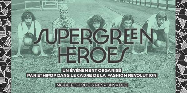 Bandeau de présentation de Super Green Heroes by Ethipop
