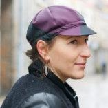 casquette femmes chic vélo Lady Harberton portée