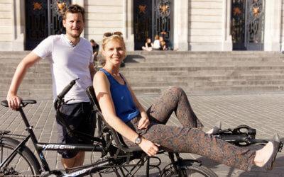 Emilie avec Alexis du projet One Bike For Two : «Le voyage en tandem m'a réconciliée avec le vélo» [Une Fille/Un vélo]
