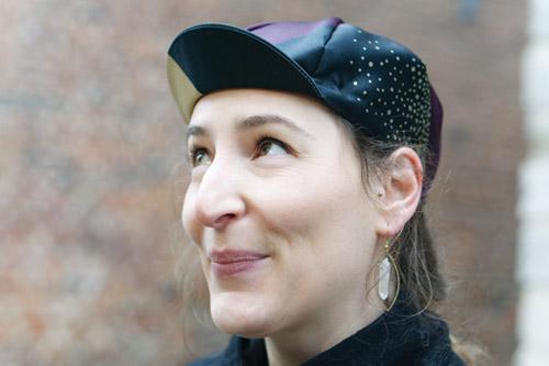 cadeau cycliste femme casquette Lady Harberton x Vera Cycling
