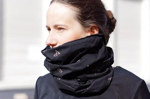cadeau cycliste femme echarpe snood Lady Harberton