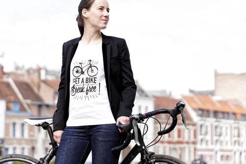 cadeau cycliste femme tee-shirt Lady Harberton