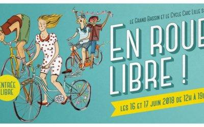 En roue libre – Roubaix – 16/17 Juin 2018