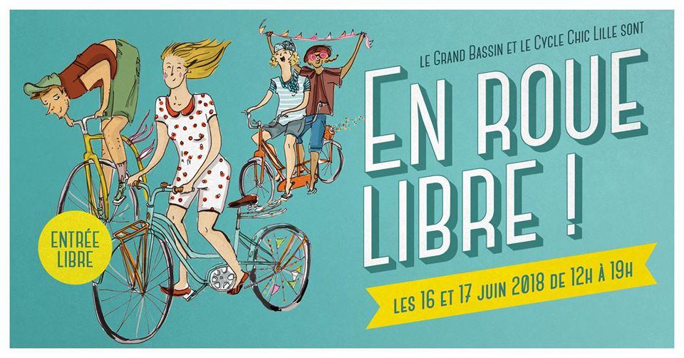 Festival Vélo En roue Libre Roubaix Juin 2018