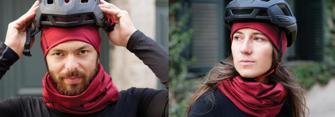 bonnet rouge bordeaux en laine mérinos pour homme et pour femme lady harberton