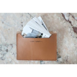 porte cartes de visites en cuir made in france lady harberton