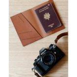 porte passeport luxe en cuir made in france lady harberton Etui passeport luxe