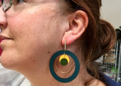 Atelier-bijoux-boucles d'oreilles