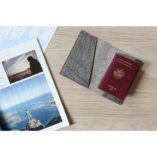 porte passeport femme luxe en cuir argent made in france lady harberton