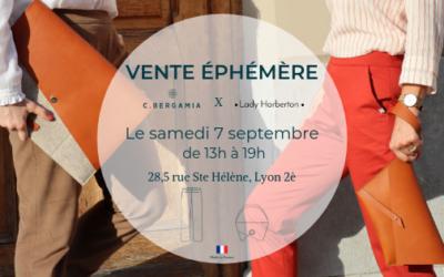 Journée Vente éphémère à Lyon avec C.Bergamia – Samedi 7 septembre 2019 – Lyon, Métro Bellecour – 2ème arrondissement
