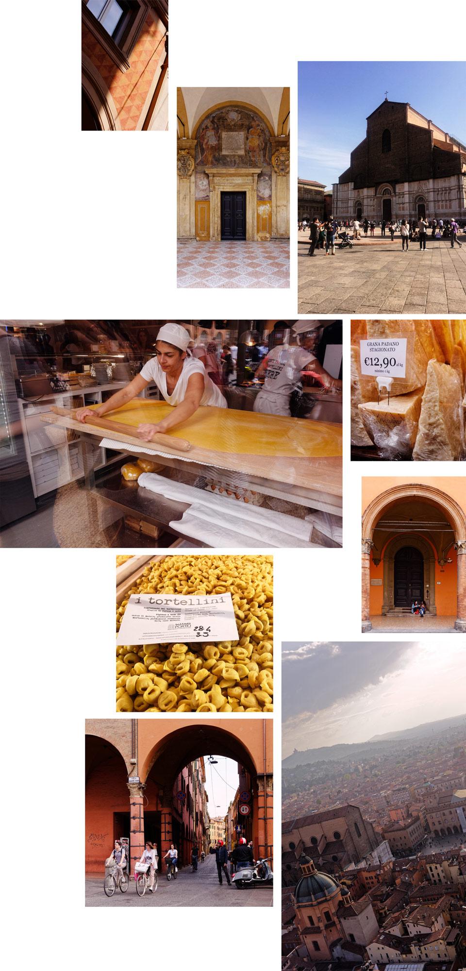 pâtes fraîches maison Bologne