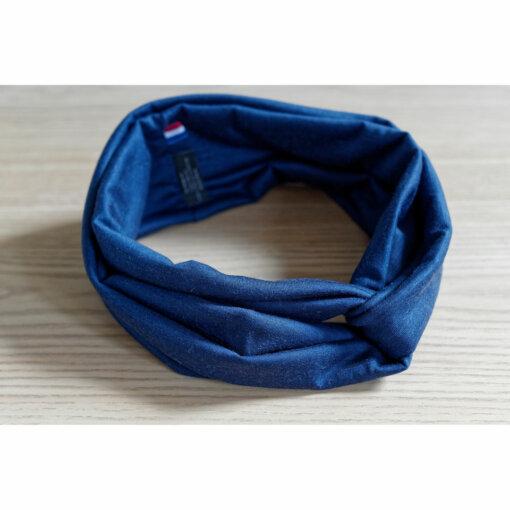 Lady-Harberton-Bandeau-Laine-Merinos-Bleu-Indigo