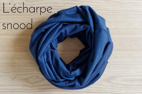 Echarpes snood en laine mérinos fabriquée en france Lady Harberton