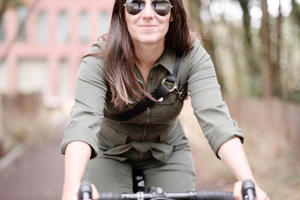 Sac à main en cuir vélo fabriqué en France Lady Harberton