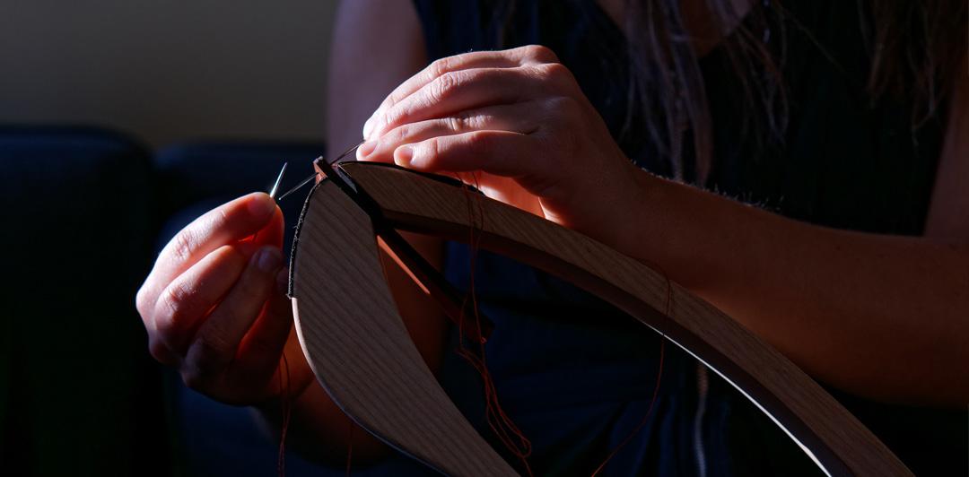 sac à main en cuir de vachette haut de gamme fabriqué en France Lady Harberton